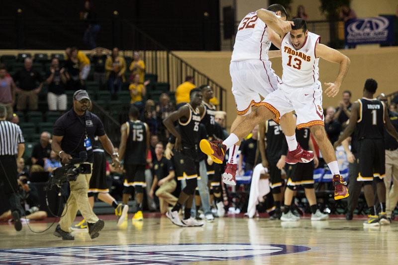 NCAAB Wichita State v USC 081