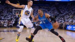 USP NBA: OKLAHOMA CITY THUNDER AT GOLDEN STATE WAR S BKN USA CA