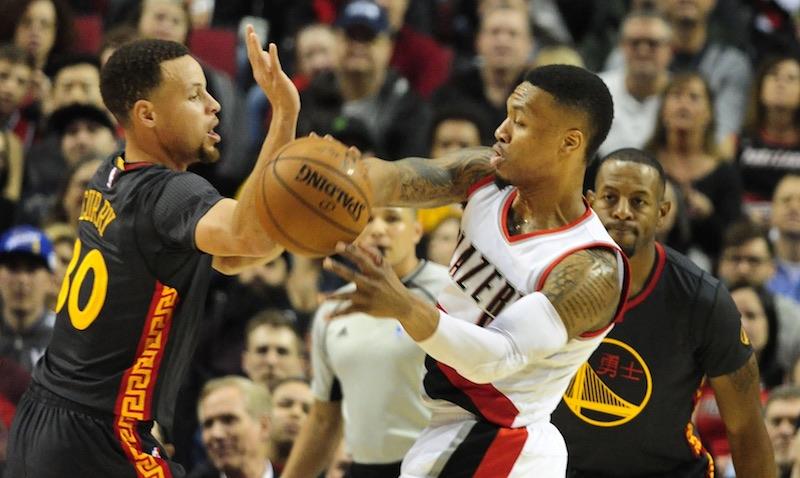 Le Portland de Damian Lillard (51 pts) humilie les Warriors : + 32 points !