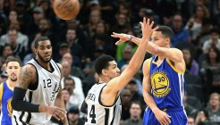 NBA: Golden State Warriors at San Antonio Spurs