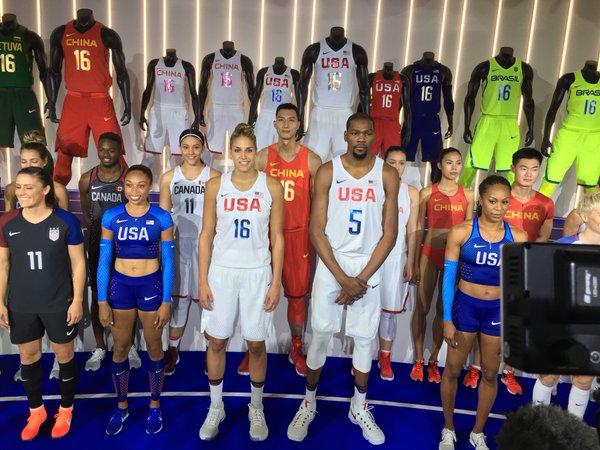 Usa Le Dévoile Basket Nike Team De Olympiques Maillot Jeux Rq0yAWtgw6
