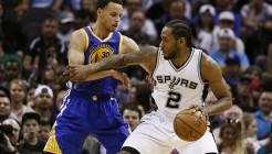 NBA: Golden State Warriors at San Antonio Spurs