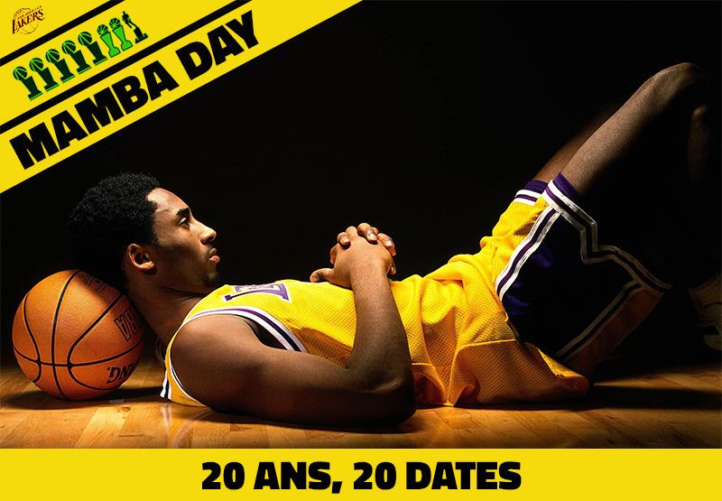 Mambay Day] La carrière de Kobe Bryant en 20 dates | Basket USA