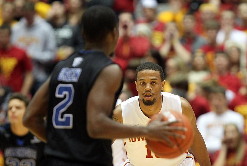 NCAA Basketball: Georgia State at Iowa State
