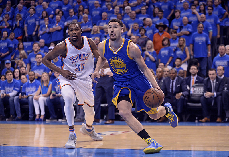NBA: Playoffs-Golden State Warriors at Oklahoma City Thunder