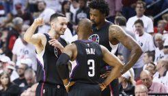 NBA: APR 25 Clippers at Trail Blazers