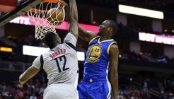 USP NBA: GOLDEN STATE WARRIORS AT HOUSTON ROCKETS S BKN USA TX