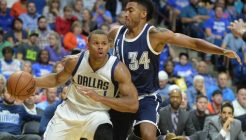 NBA: Preseason-Dallas Mavericks at Oklahoma City Thunder