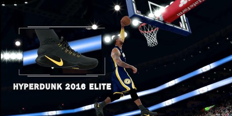 NBA 2K17 : un trailer dedié aux chaussures | Basket USA
