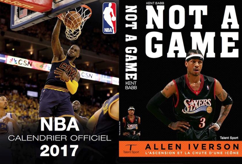 Le Le Le calendrier officiel de la saison NBA + le livre sur Allen Iverson c525f6