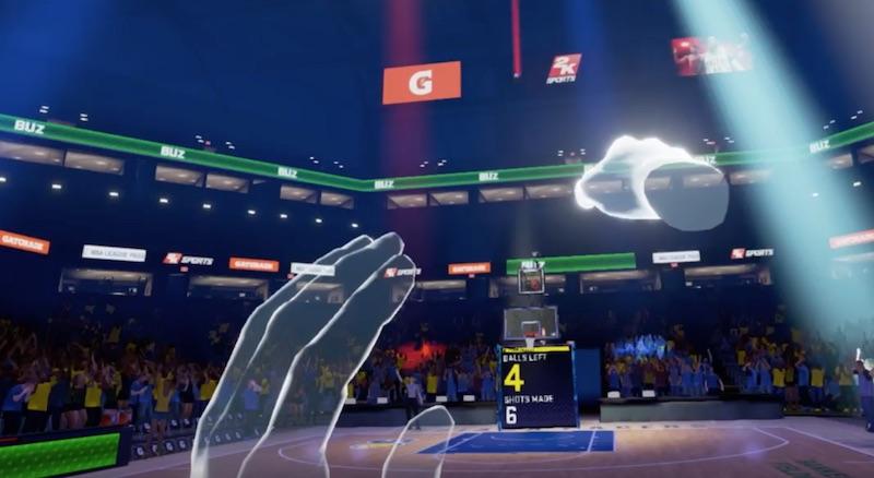 2K sort le premier jeu de basket en réalité virtuelle: NBA 2KVR