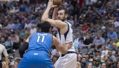 NBA: Preseason-Oklahoma City Thunder at Dallas Mavericks