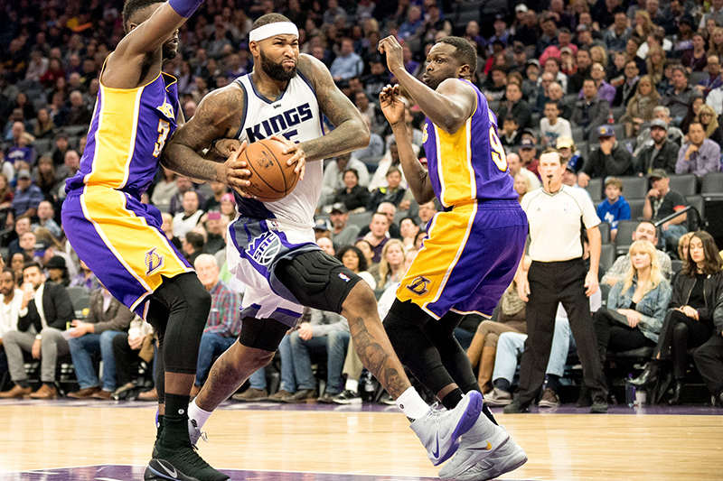 NBA: Los Angeles Lakers at Sacramento Kings