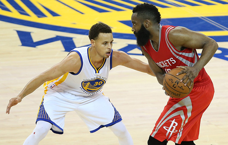 Les Rockets tapent les Warriors après 2 prolongations