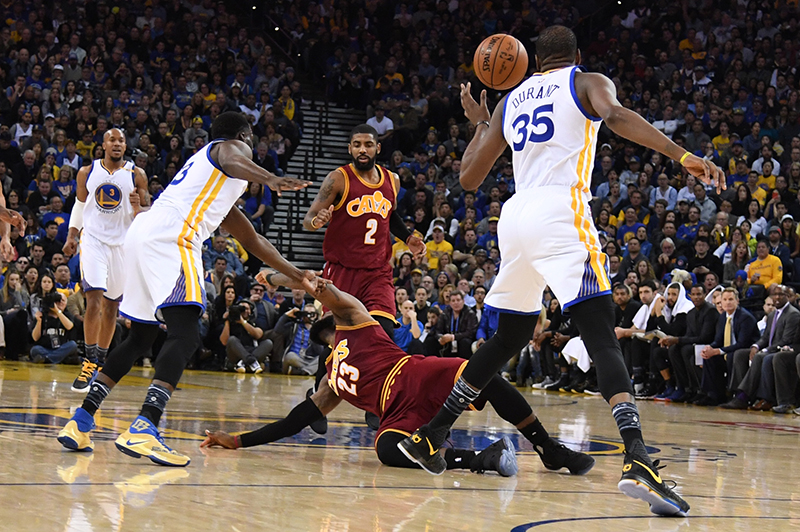 NBA: les Warriors corrigent les Cavaliers