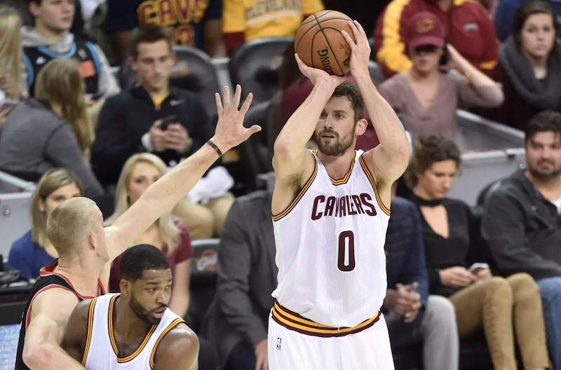 Cavaliers: Kevin Love absent pendant six semaines""