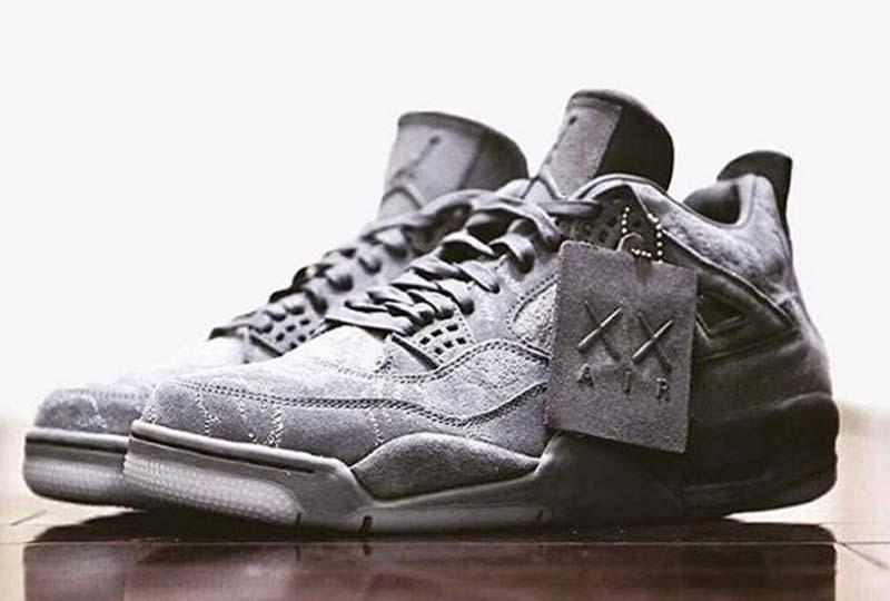C'est une édition très spéciale de la Air Jordan 4 qui sera disponible  d'ici quelques jours. Pas d'équipe ou de basketteur à l'honneur, mais  l'imagination ...