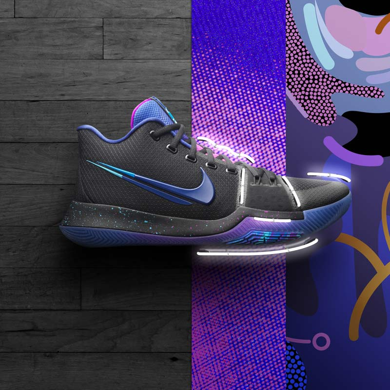 basket nike lumiere