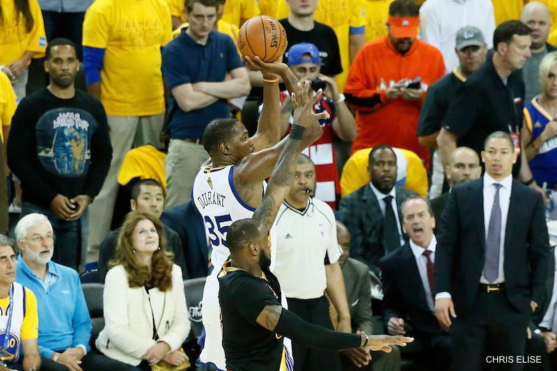 Stephen Curry : « Chaque match est différent, c'est la beauté des finales NBA »
