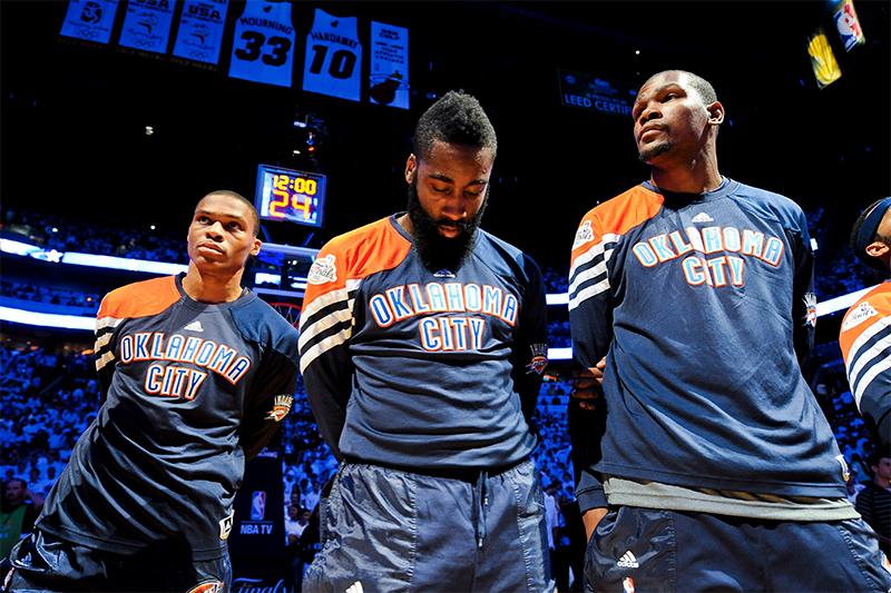NBA : Russel Westbrook élu MVP de la saison devant James Harden