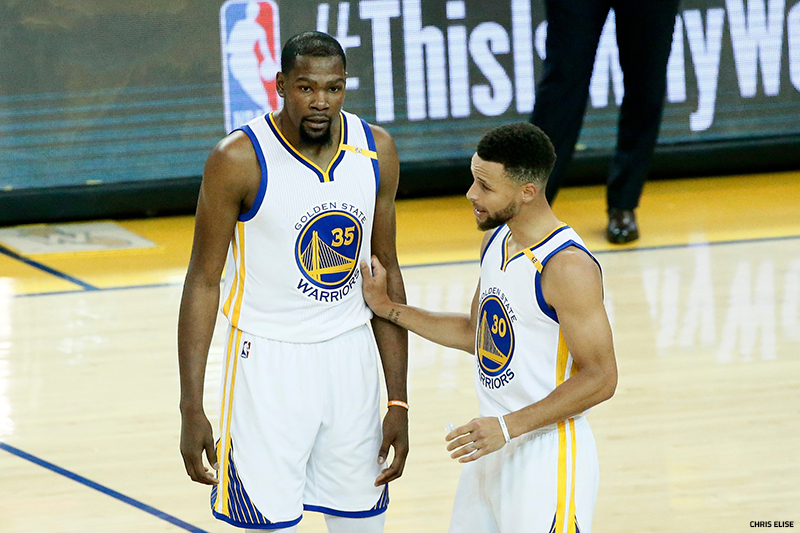 NBA : Golden State mène 2 - 0
