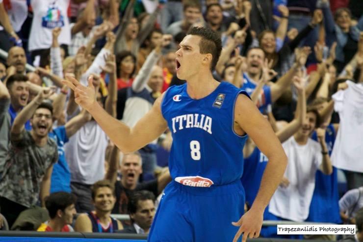 Gallinari forfait après s'être blessé en se battant avec un adversaire — EuroBasket