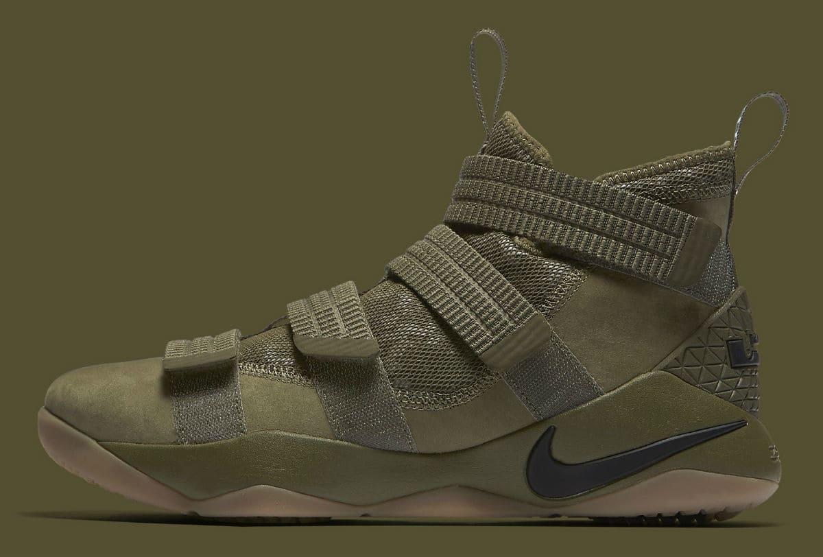 Nike : la LeBron Soldier 11 prend des allures militaires