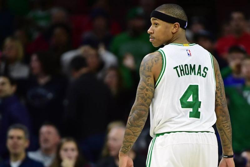 Isaiah Thomas pourrait manqué le début de saison — Boston