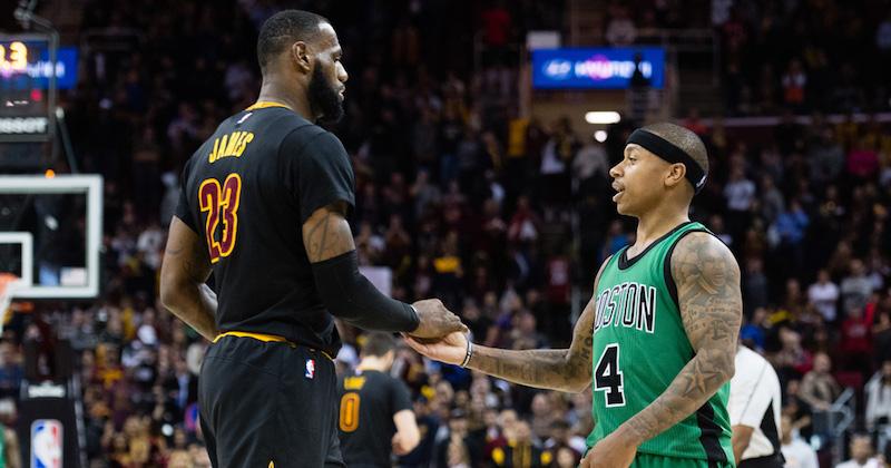 NBA: un échange Irving-Thomas entre Boston et Cleveland