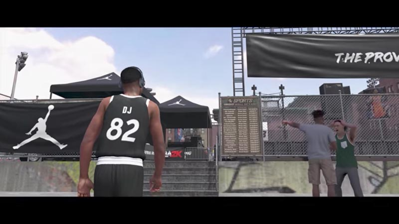 NBA 2K18 s'amuse dans le quartier