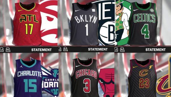 379ea123 Les premières images des maillots alternatifs des 30 franchises | Basket USA
