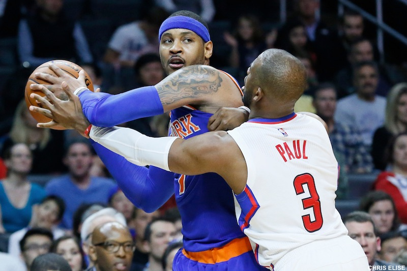 La star des Knicks, Anthony, en route pour Oklahoma — NBA