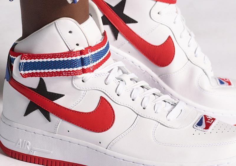 Nike et Ricardo Tisci mettent la Air Force 1 aux couleurs de la NBA