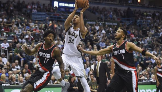 Milwaukee portland le greek freak est magique - Magique basket ...