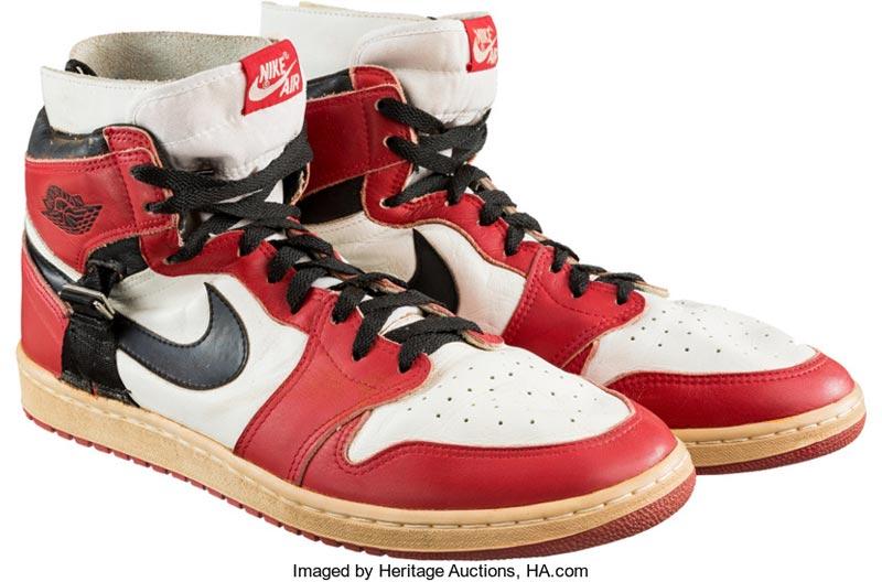 check-out 7f1ac d29a2 Les Air Jordan 1 de rééducation de Michael Jordan aux ...