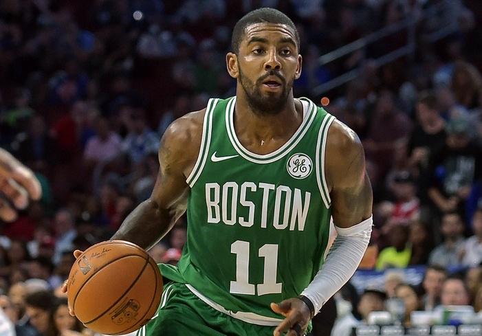 acheter en ligne df9e3 977fd Kyrie Irving défend comme jamais avec Boston   Basket USA