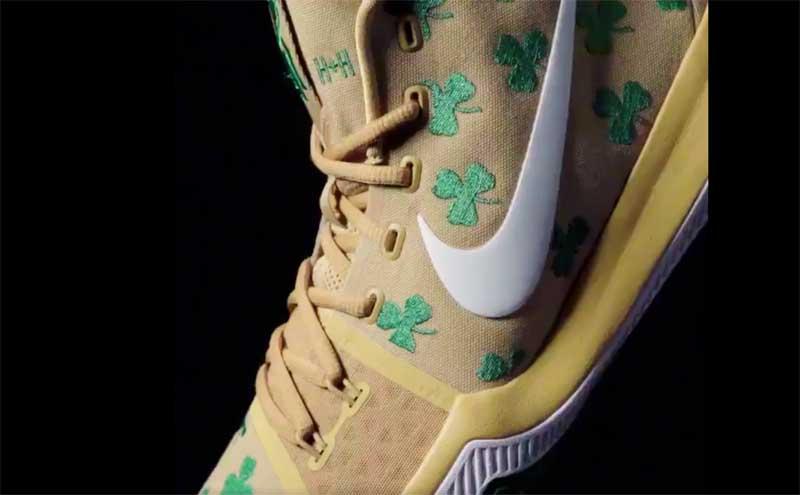 buy popular 323e7 f177e Nike : la Kyrie 3 enfin aux couleurs des Celtics, mais en ...
