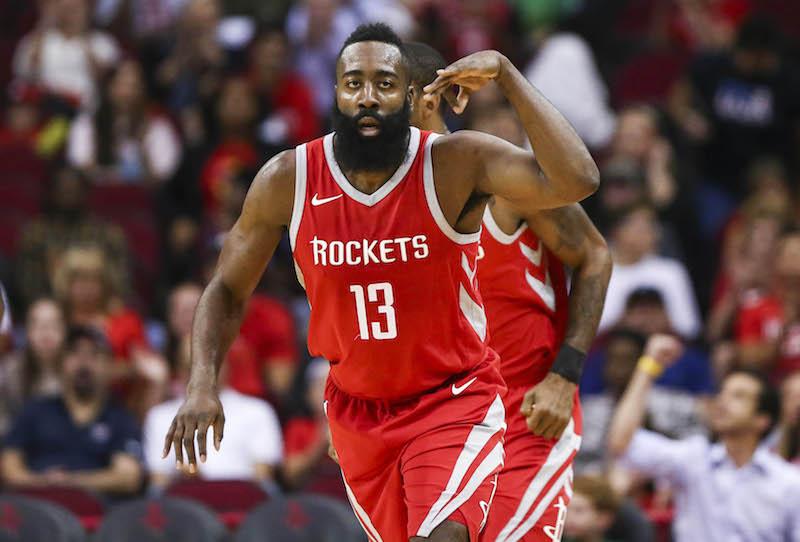 Gros carton pour James Harden, 9e succès de suite pour les Rockets
