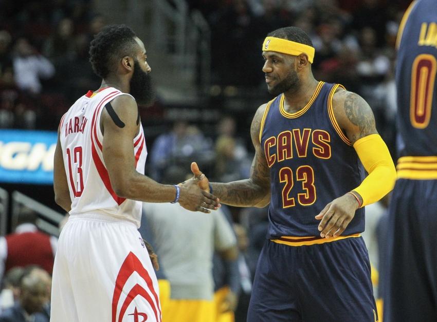 LeBron James et James Harden joueurs de la semaine — NBA