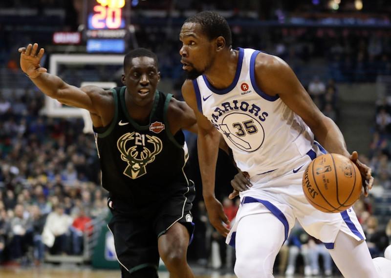 Golden State tombe de haut, Durant dans l'histoire — NBA