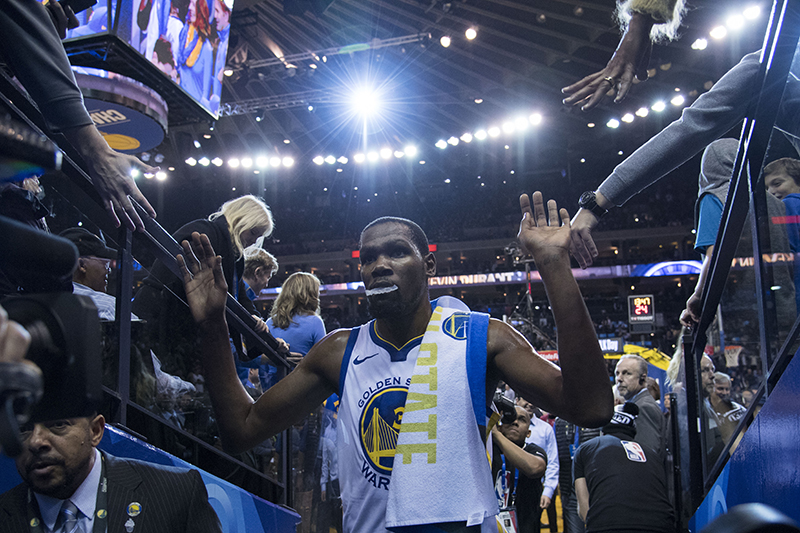 NBA - Duel titanesque entre Kevin Durant et Lou Williams