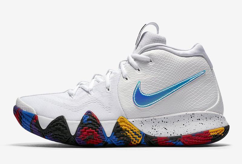 Nike : la Kyrie 4 en blanc pour fêter la NCAA | Basket USA