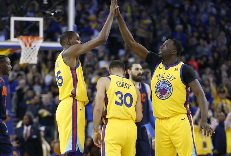 Les Warriors marquent le pas — NBA