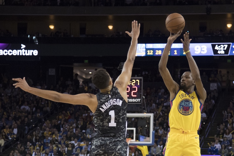 Pas d'inquiétude pour Kevin Durant — NBA
