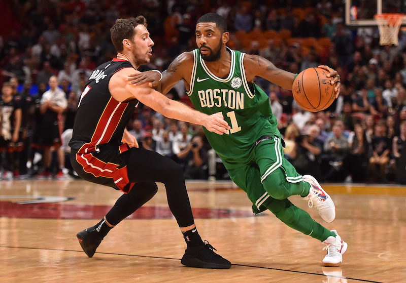 Boston jouera les Playoffs sans Kyrie Irving
