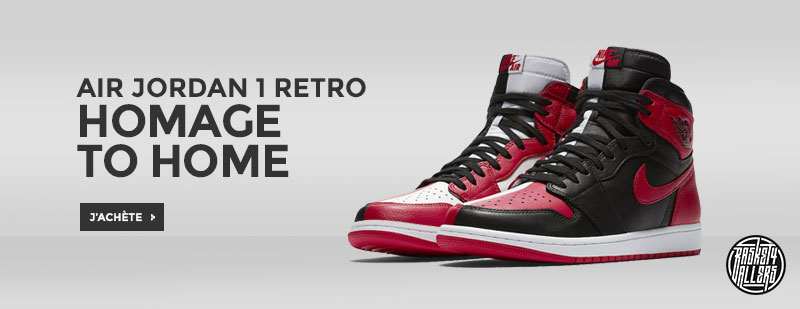 f4cd07f68961 Commandez chez B4B la Air Jordan 1 Retro Homage to Home qui mixe les  coloris iconiques « Banned » et « Chicago » en hommage à la ville de  Chicago dont MJ a ...