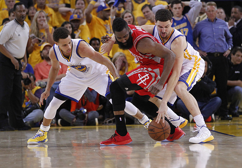 NBA - Les Golden State Warriors frappent d'entrée en s'imposant à Houston