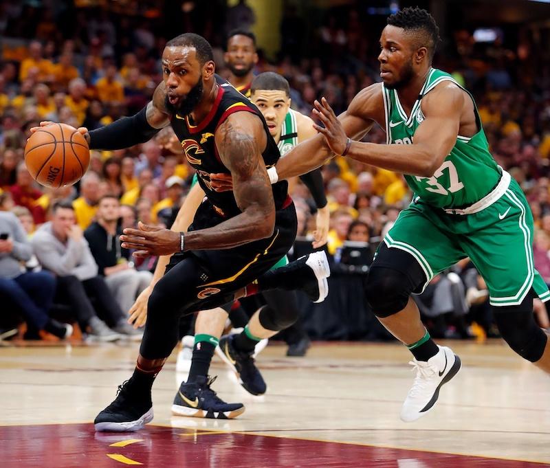 Cleveland élimine Boston, 8e finale de suite pour LeBron James — Basket-NBA