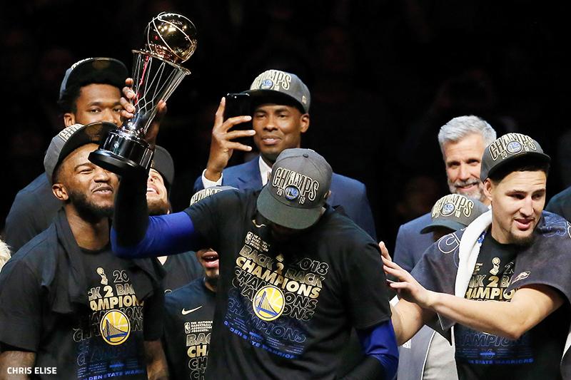 0e3021b3d31e Kevin Durant ou Stephen Curry   Stephen Curry ou Kevin Durant   À mesure que  la fin du Game 4 de ces Finals 2018 approchait