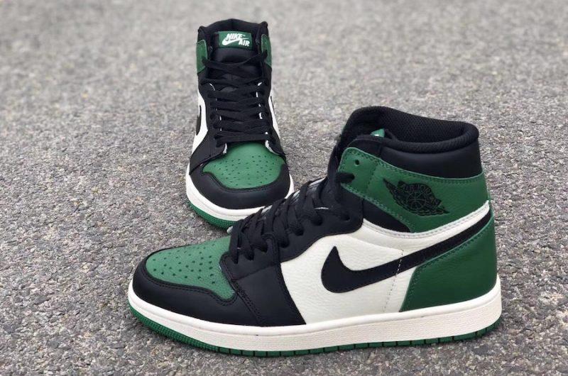 Air Jordan 1 Retro OG Pine Green : du vert pour l'automne